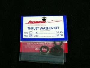 Aeromarine Thrust Washers .250-0