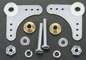 Dubro 90° Nylon Bellcrank Assembly-0