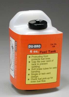Dubro Fuel Tank - 6 Oz-0