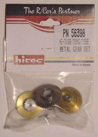 Hitec Metal Gear Set HS-700BB/705MG/715BB-0
