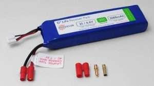 HYPERION LIFEPO4 3000 MAH 6.6V RECEIVER PACK-0