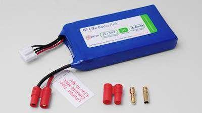 HYPERION LIFEPO4 1600 MAH 9.9V TRANSMITTER PACK-0