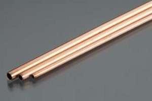 K&S 1/8 X 12 Round Copper Tubing -0