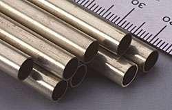 K&S 11/32 X 12 Round Brass Tubing-0