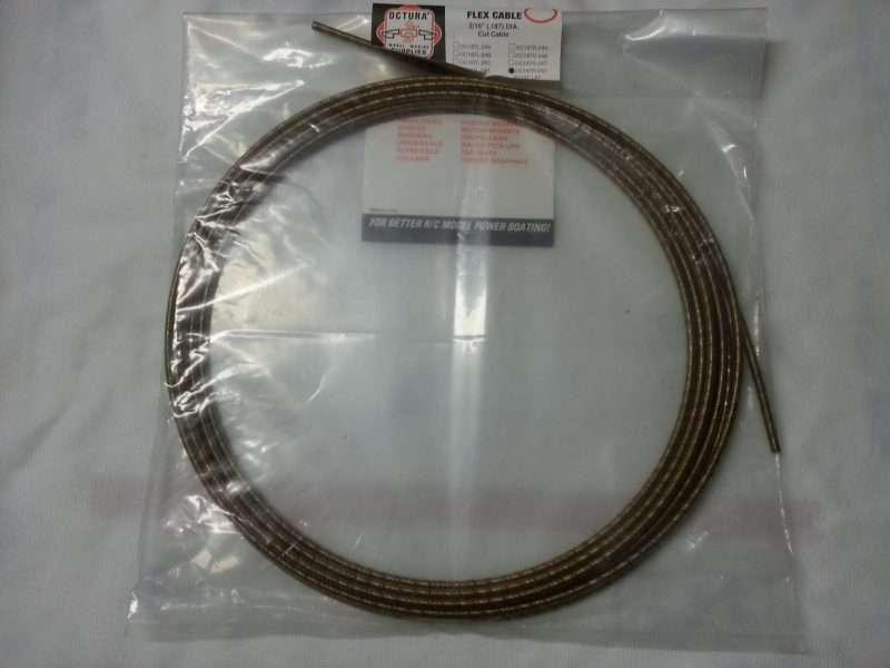 Octura Flex Cable - .187 x 20 ft. Right Lay-0