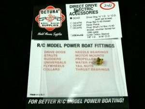 Octura Drive Dog - 1/8 in. ID 1/4 in. Dia.-0