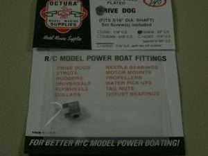 Octura Drive Dog 3/16 in. ID x 3/8 in. OD-0