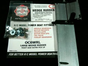 Octura Rudder Assembly - Wedge Style-0