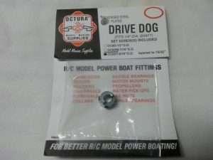 Octura Drive Dog - 1/4 in. Bore x 9/16 in. OD Tapered-0