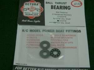 Octura Thrust Bearing Set 1/4 in.-0