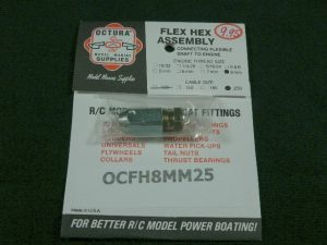 Octura Flex Coupling 8mm x .250-0