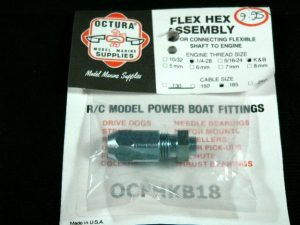 Octura Flex Coupling K&B .21-.67-0