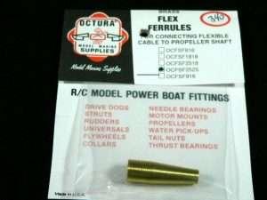 Octura Brass Flex Ferrule .250 X 7/16 OD-0