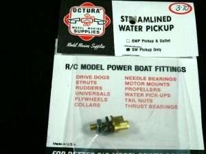 Octura Brass Streamlined Water Pickup-0