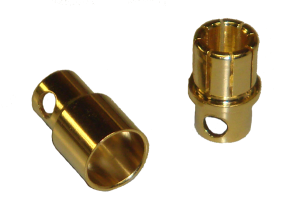 PRC 8mm Bullet Connectors (2 pairs)-0