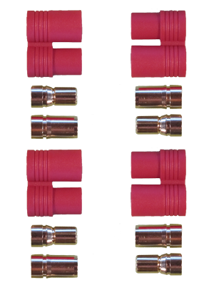 PRC8 Connectors (2 pairs)-0