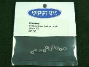 RCR 4-40 SS 18-8 Nylon Insert Locknut (pkg 25)-0