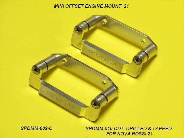 Speedmaster Mini Offset Motor Mount-D&T-0