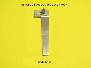 Speedmaster Rudder 21 Bld and Brg Blk Assy-0