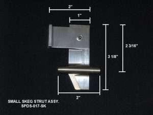 Speedmaster Small Skeg Strut Assy-0