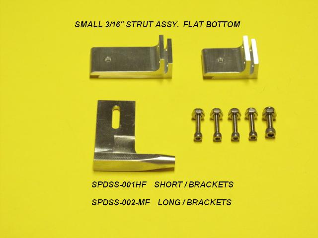 Speedmaster Small Strut Assy .187 Mono FB-0