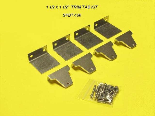Speedmaster Trim Tab Kit-150-0