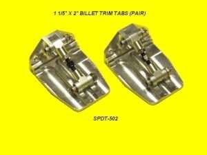 Speedmaster Billet Trim Tab Kit-0