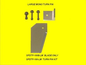 Speedmaster Large Turn Fin Assembly for Mono-0