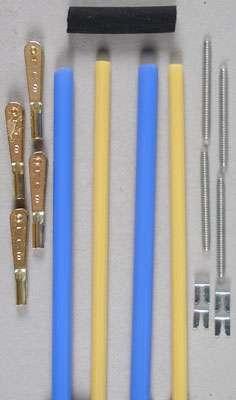 "Sullivan Semiflex Gold-N-Rod w/Gold-N-Clevises 36"" (2)-0"