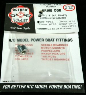 Octura Drive Dog 3/16 in. ID x 7/16 in. OD-0