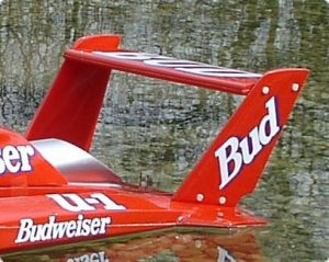 Hydro and Marine Spoiler for Twin Wing T-4 MS 1/8 Hydro-0